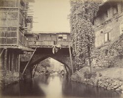 Bridge on the Marqual Canal, Cashmere.